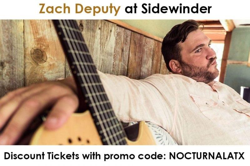 Empire Garage Zach Deputy Ticket Promo Code Austin 2017
