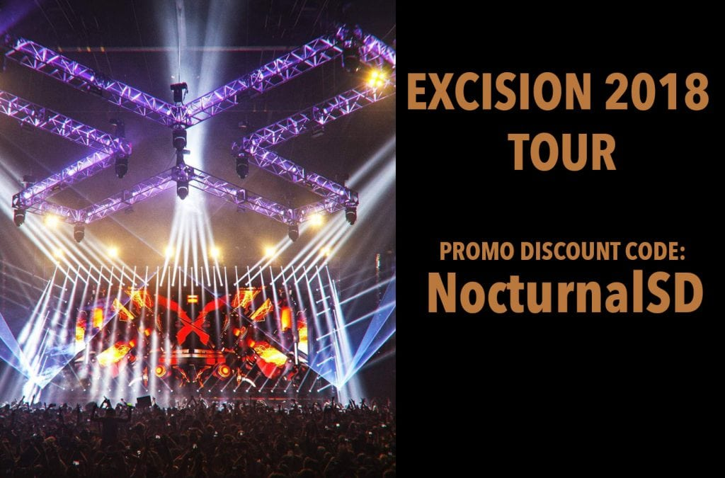 Excision 2018 Tour Tickets