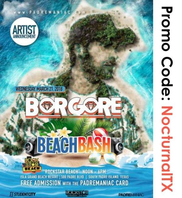 Borgore Beach Bash South Padre 2018