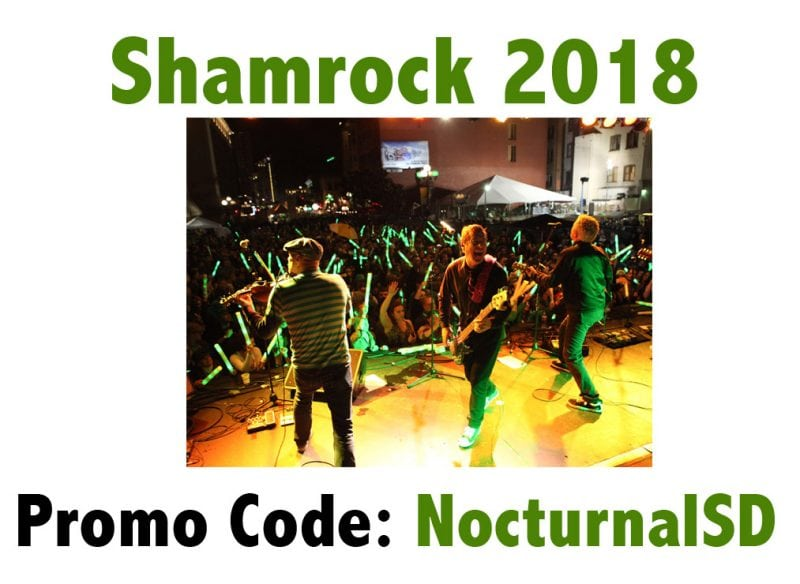 Shamrock 2018 Lineup