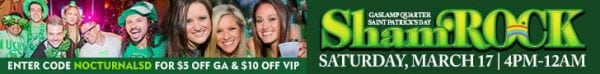shamrock st patricks day vip ticket discount promo code gaslamp downtown san diego food live music festival east village