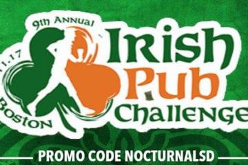 Annual Irish Pub Challenge 2018 Promo Tickets Boston Discount
