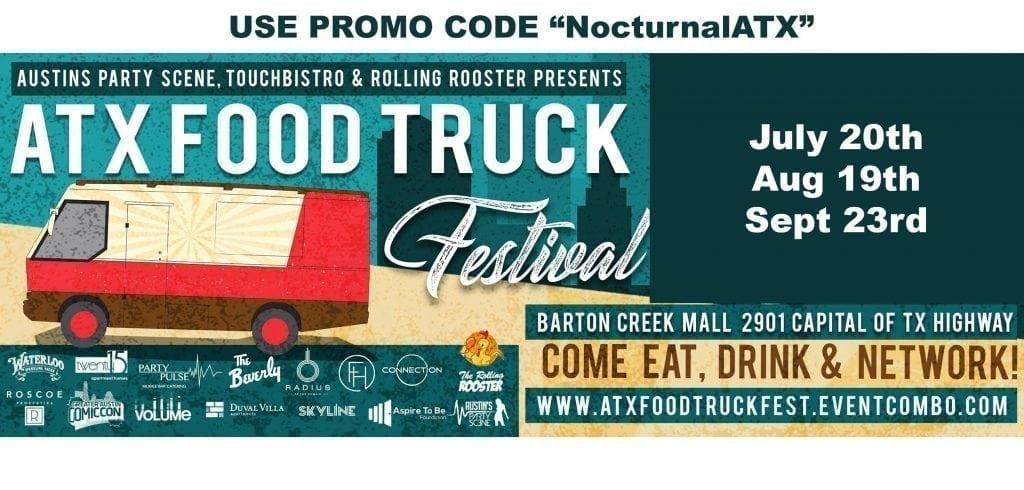 ATX food Truck Fest Promo Code discount tickets food trucks food