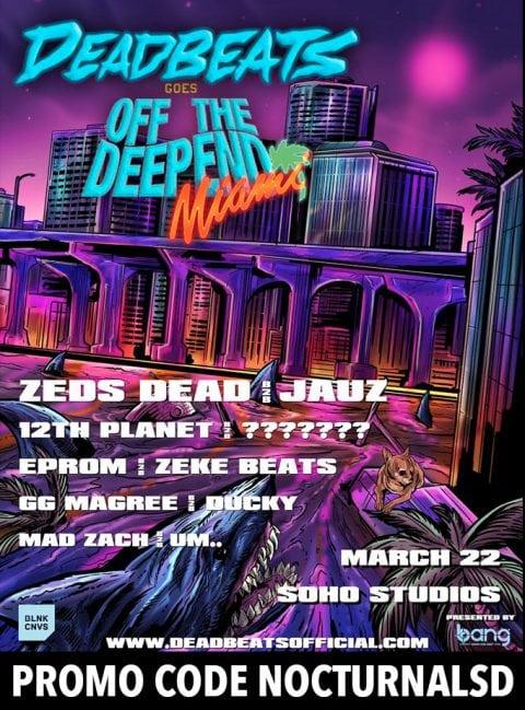 Deadbeats 2018 Lineup
