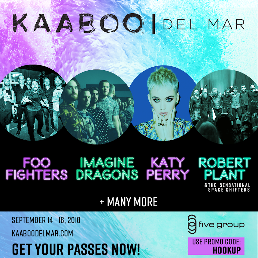 Kaaboo Hang 3 Day Pass Promotional Code HOOKUP 2018 del mar discount coupon basket cabanas fanzone