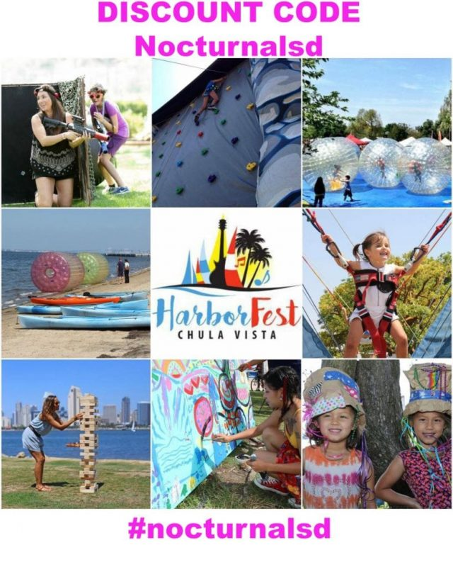 Chula Vista harbor festival discount promo code coupon 2018 tickets parking fishing lazer volleyball event festival music wine beer food