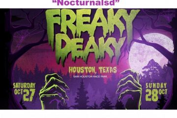 Freaky Deaky Ambassador Code Nocturnalsd Houston Halloween 2018 Discount Promo rave music festival sam houston something wicked 2018