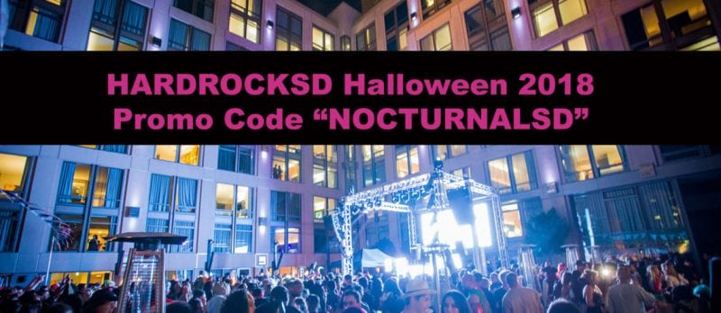 Hard Rock Halloween 2018 Promo Code San Diego Tickets on Sale discount promotional coupon deal sale