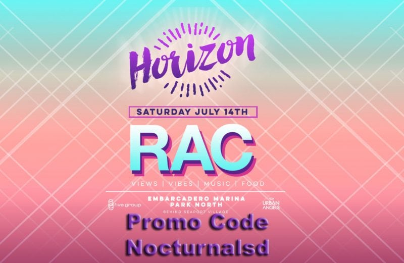 Horizon Music Festival Promotional Code San Diego Tickets For Sale rac eric diaz
