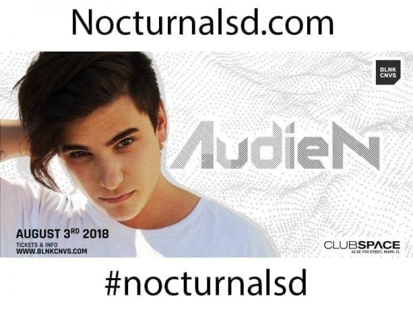 Audien Club Space Miami Discount Tickets free guest list 18 and up things to do
