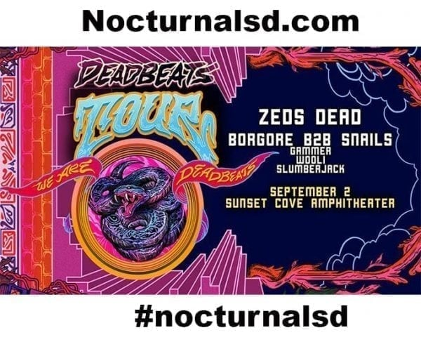DEADBEATS SUNSET COVE BOCA Tickets For Sale Discount, promo code, line up, 18+ all ages, 21+, set times, event map stages, edm music festivals