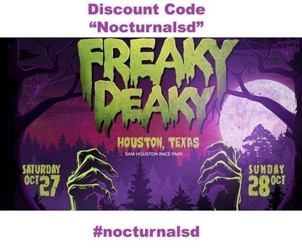Freaky Deaky Promo Code General Admission Ga VIP