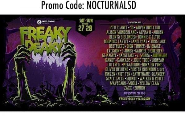 Freaky Deaky Promo Code Disco Donnie