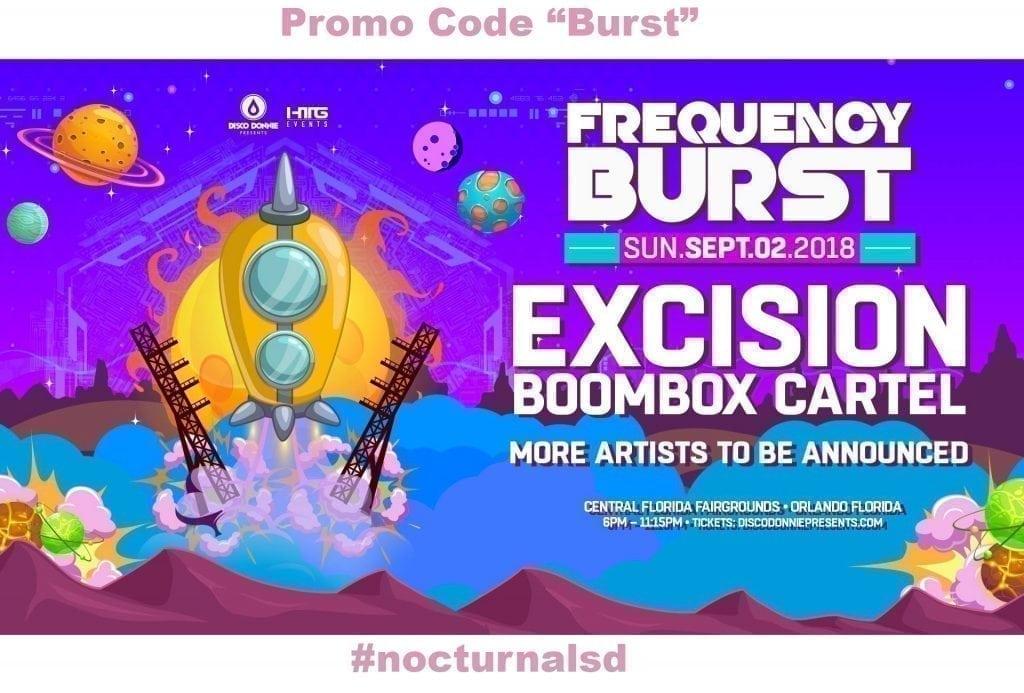 Frquency burst promo code Ambassador Code