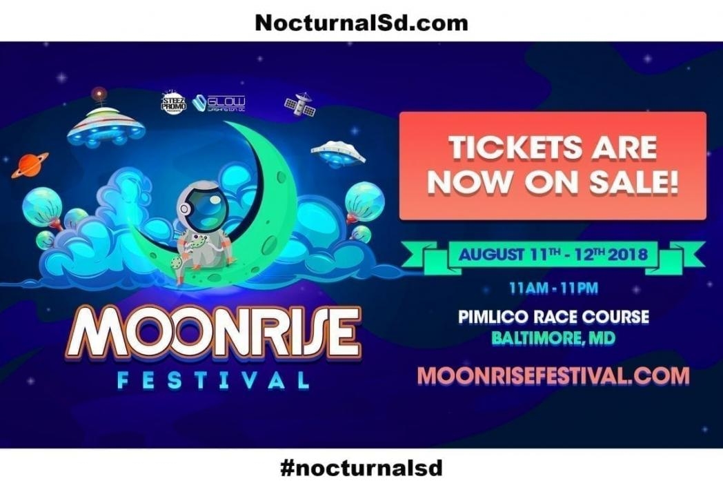 Moonrise Festival 2018 Tickets For Sale Discount promo code, lineup set times stage event map, day 1, day 2, discount promotional code coupon, free ages, 18