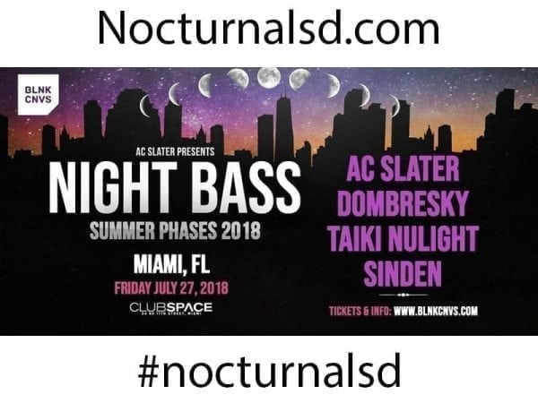 free guest list Night Bass Club Space 2018 Discount Tickets