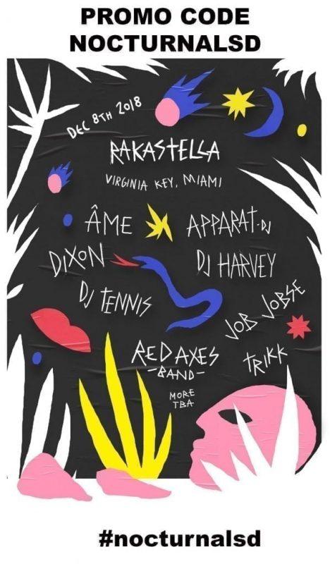 "Rakastella Hashtags #rakastella #rakastella2018 #rakastella2017 #Âme(dj) #Apparat(dj) #Dixon #DJHarvey #DJTennis #JobJobse #RedAxesBand Trikk Rakastella 2018 Promo Code ""nocturnalsd"" Innervisions Life Death, tickets passes wrist band general admission, early bird, vip, discount, music festival"
