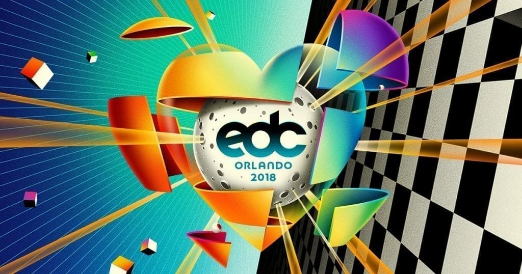 edc orlando 2018 event map set times stages parking discount promotional code coupon free guest list prize win