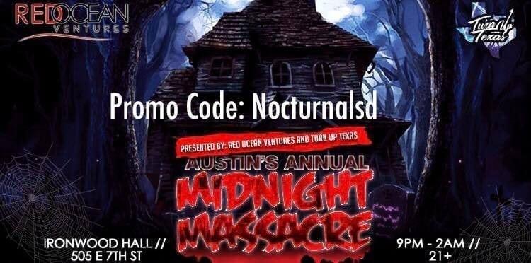 Ironwood Hall Halloween 2018 promo code discount tickets