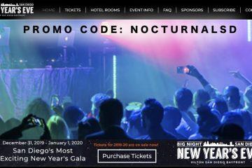 Big Night San Diego NYE Promo Code