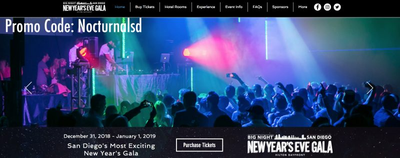 nye big night san diego hyatt bay front 2019 hotel room package discount
