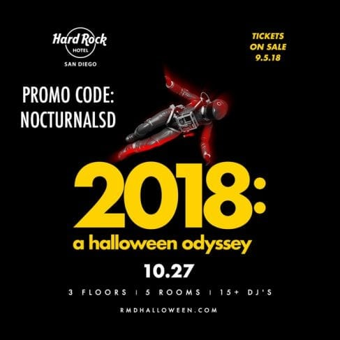 Hard Rock Halloween San Diego 2018 promotional code discount