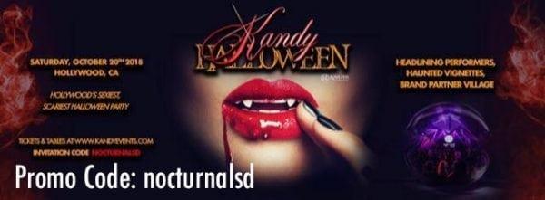 Kandy Halloween 2018 Promo Codes invitational karma