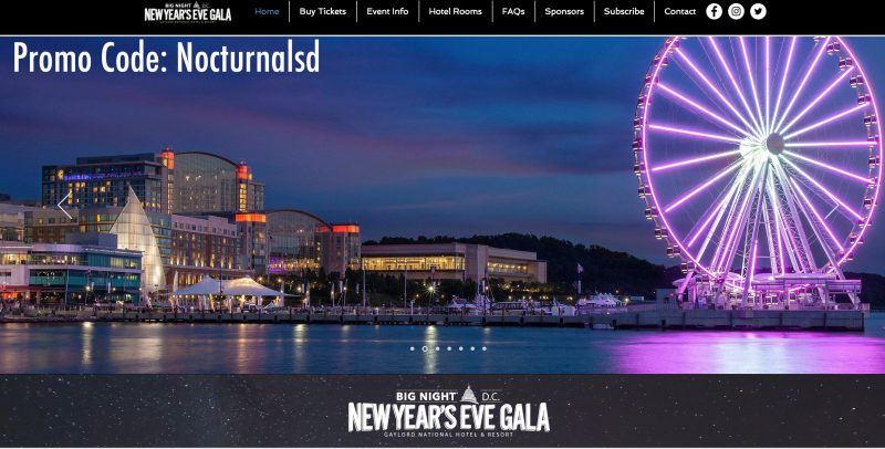Big night nye dc promotional code