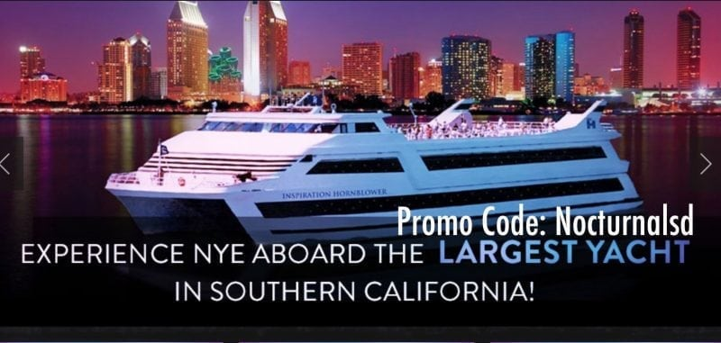 San Diego NYE casino yacht boat party