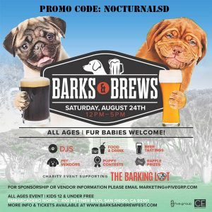 barks and brews promo code san diego