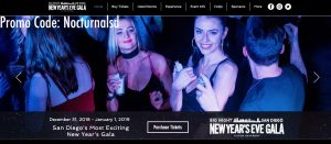 biggest best top nye party san diego downtown gaslamp quarter 2018 2019