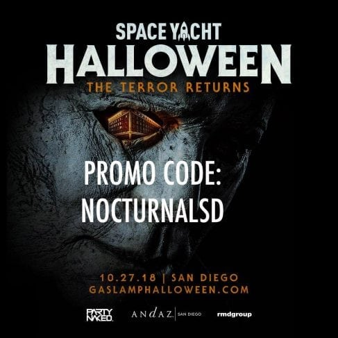Space Yacht Halloween Andaz Hotel Gaslamp San Diego Discount Promotional Code 2018