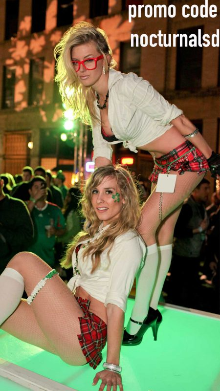 shamrock tickets vip general lucky clover irish bar crawl