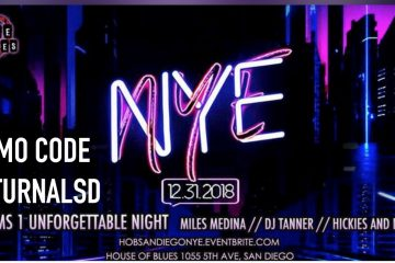 Miles madina house of blues nye vip bottle service general admission pre sale ticket discount promotional code event bright
