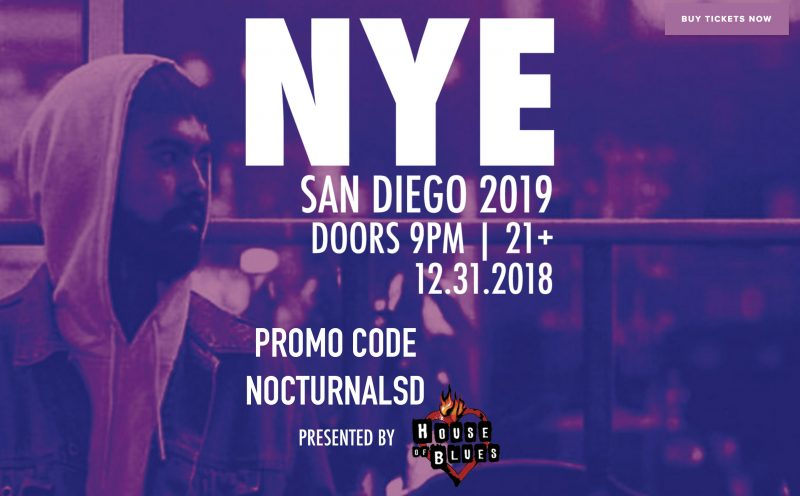 New years eve house of blues san diego 2018 2019 discount tickets promotional code coupon mile madina
