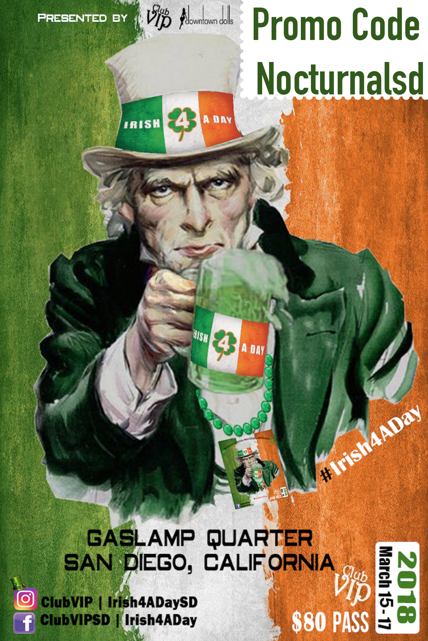 Irish for a day 2019 promotional code coupon discount tickets