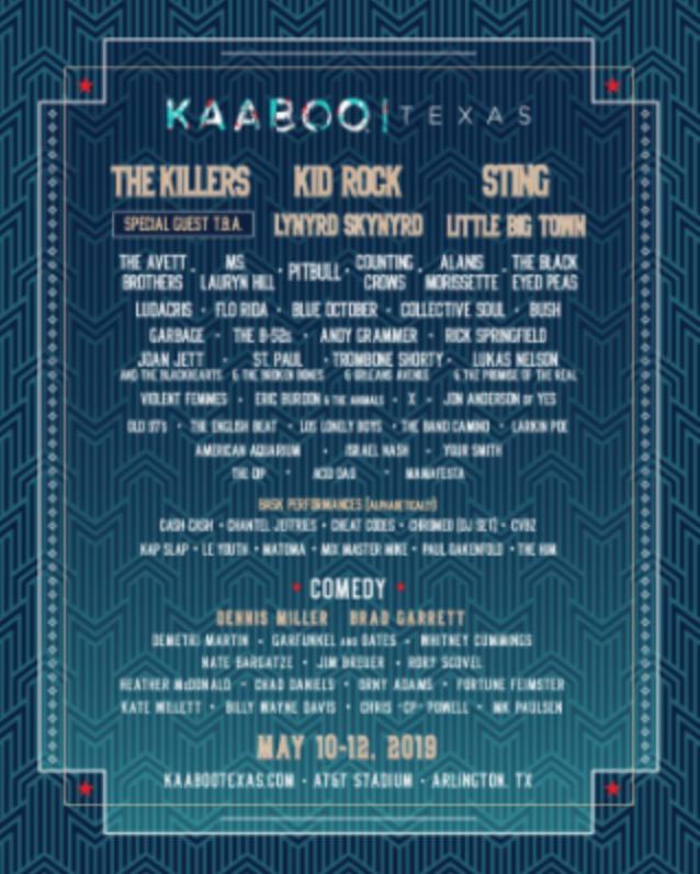 Kaaboo Texas promo code 2019
