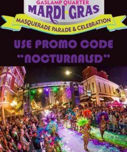 mardi gras bar crawl promotional code coupon 2019