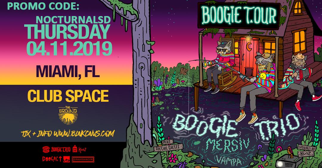 Boogie T.Rio Miami Promo Code 2019 Discount promo Code coupon shows free tickets entry