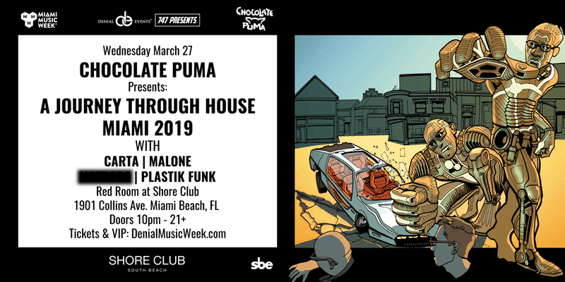 Chocolate Puma Miami Music Week 2019 Discount Tickets