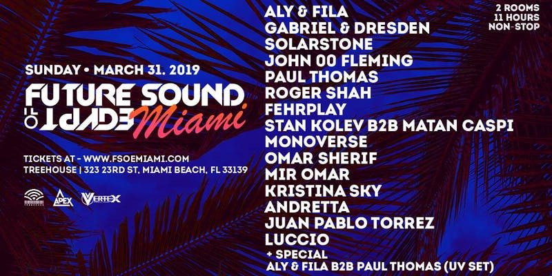 FSOE Miami Music Week 2019 Discount Promo Code, MMW 2019, VIP Passes, Discount Tickets