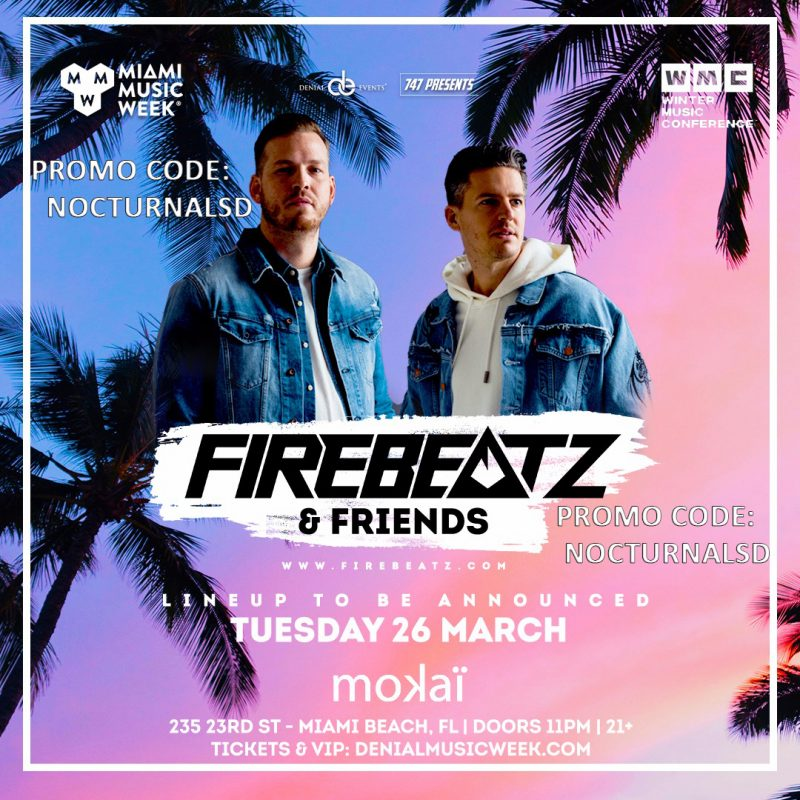 Firebeatz and Friends Code 2019 Music Week 2019 Discount promo Code coupon shows free tickets entry