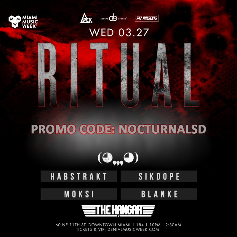 Mystery Ghost Ritual Miami Music Week Promo Code 2019