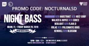 Night Bass Miami Promo Code 2019 Miami Music Week 2019 Discount promo Code coupon shows free tickets entry
