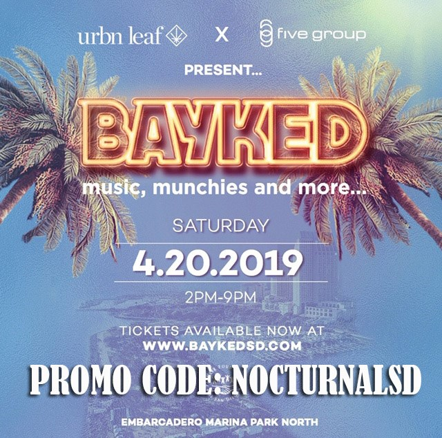 Bayked Festival Promo Code San Diego