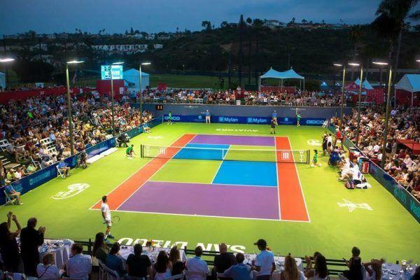 San Diego Aviators Tennis Discount Season Passes, Discount Promo Code, Discounted VIP Passes, Season Tickets, Omni La Costa Resort & Spa, Carlsbad, Summer