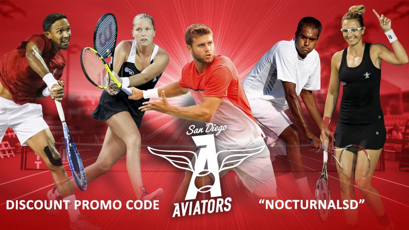 San Diego Aviators Tennis Tickets Discount Promo Code, Discounted VIP Passes, Season Tickets, Omni La Costa Resort & Spa, Carlsbad, Summer