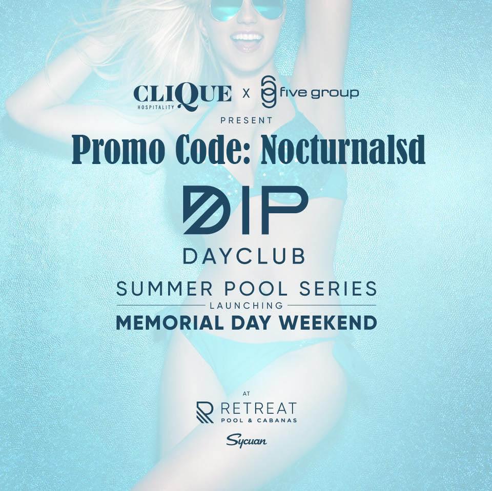 dip dayclub promo code pool party syuan