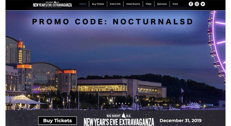Big Night DC NYE Promo Code