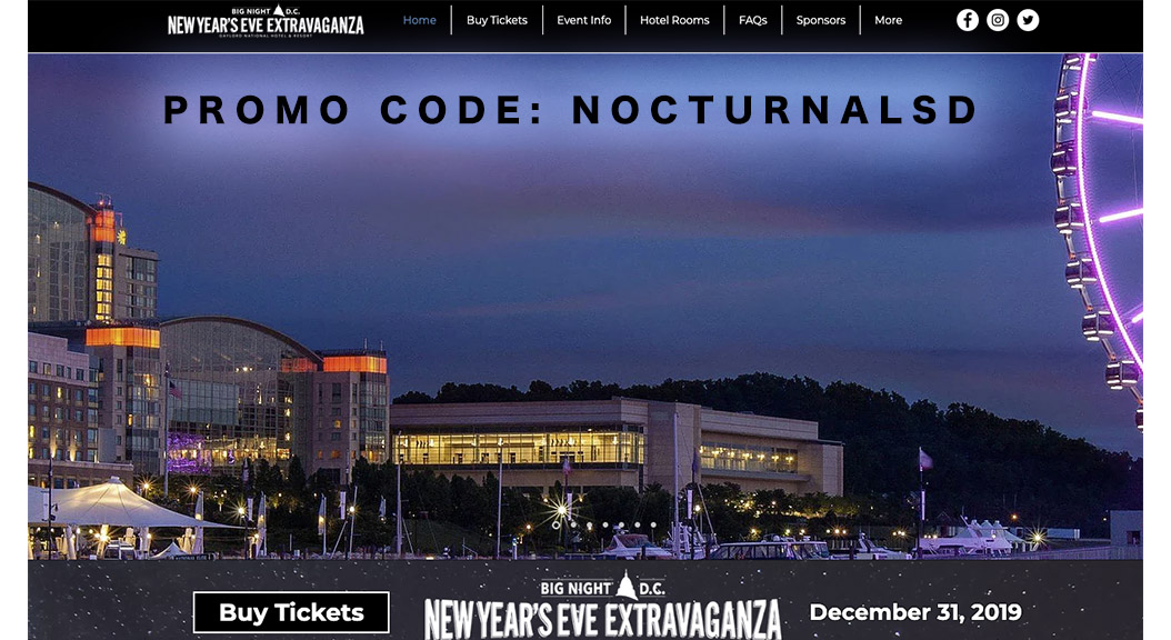 Big Night DC NYE Promo Code
